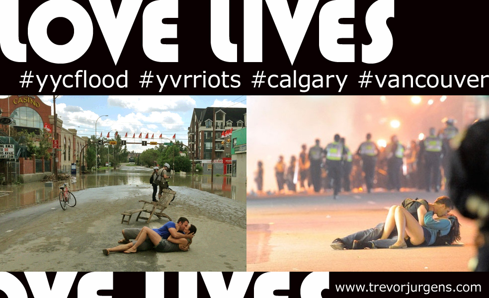 #lovelives in Calgary! #yycflood
